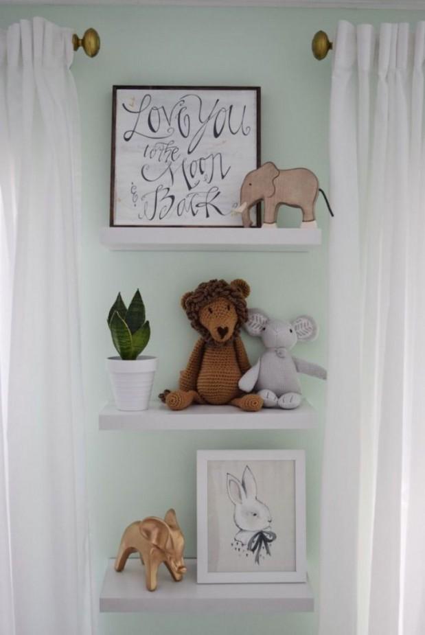 Schöner Wanddekor Für Babyzimmer Ideen  Babyzimmer Deko von Babyzimmer Deko Bilder Bild