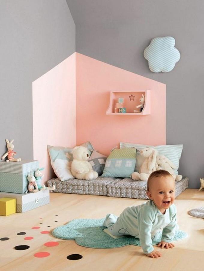 Wandfarben Ideen Für Innen Und Außen  45 Farbideen  Kinder von Babyzimmer Wände Gestalten Ideen Photo