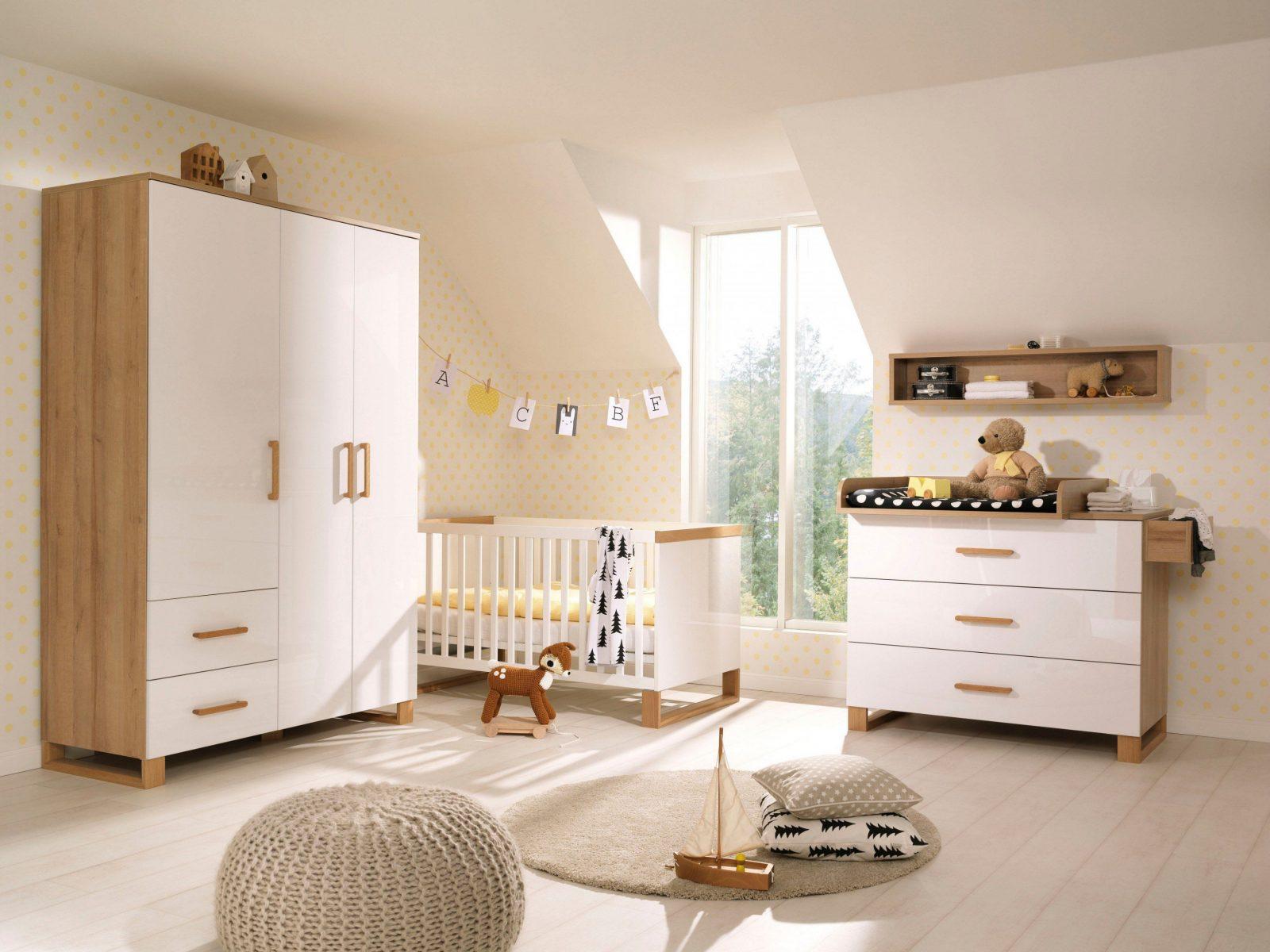 Wellemöbel Benno Babyzimmer Weiß Eiche Möbel Letz Ihr von Babyzimmer Weiß Eiche Bild