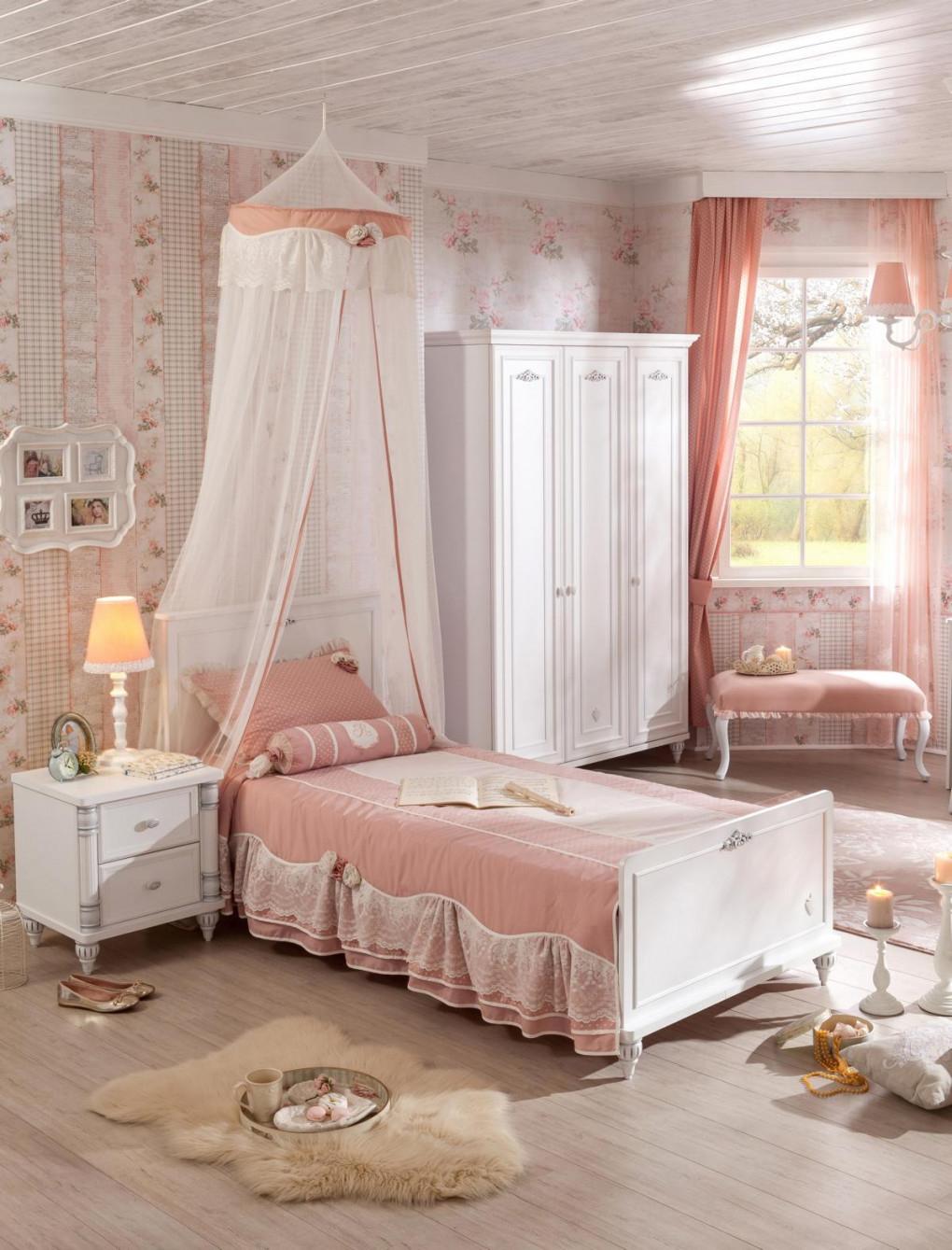 Kinderzimmer Komplett Set 3Teilig Weiß Barockstil Romantica von Günstige Babyzimmer Komplett Photo